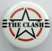 The Clash - 'AF Logo' 32mm Badge
